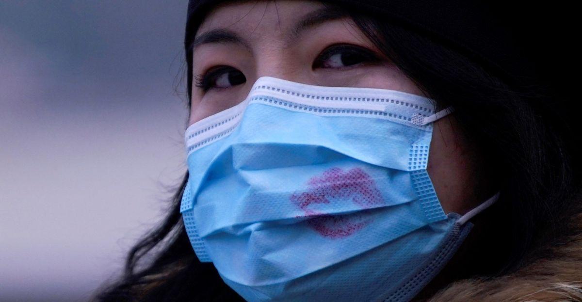 Kineskinja sa maskom na licu
